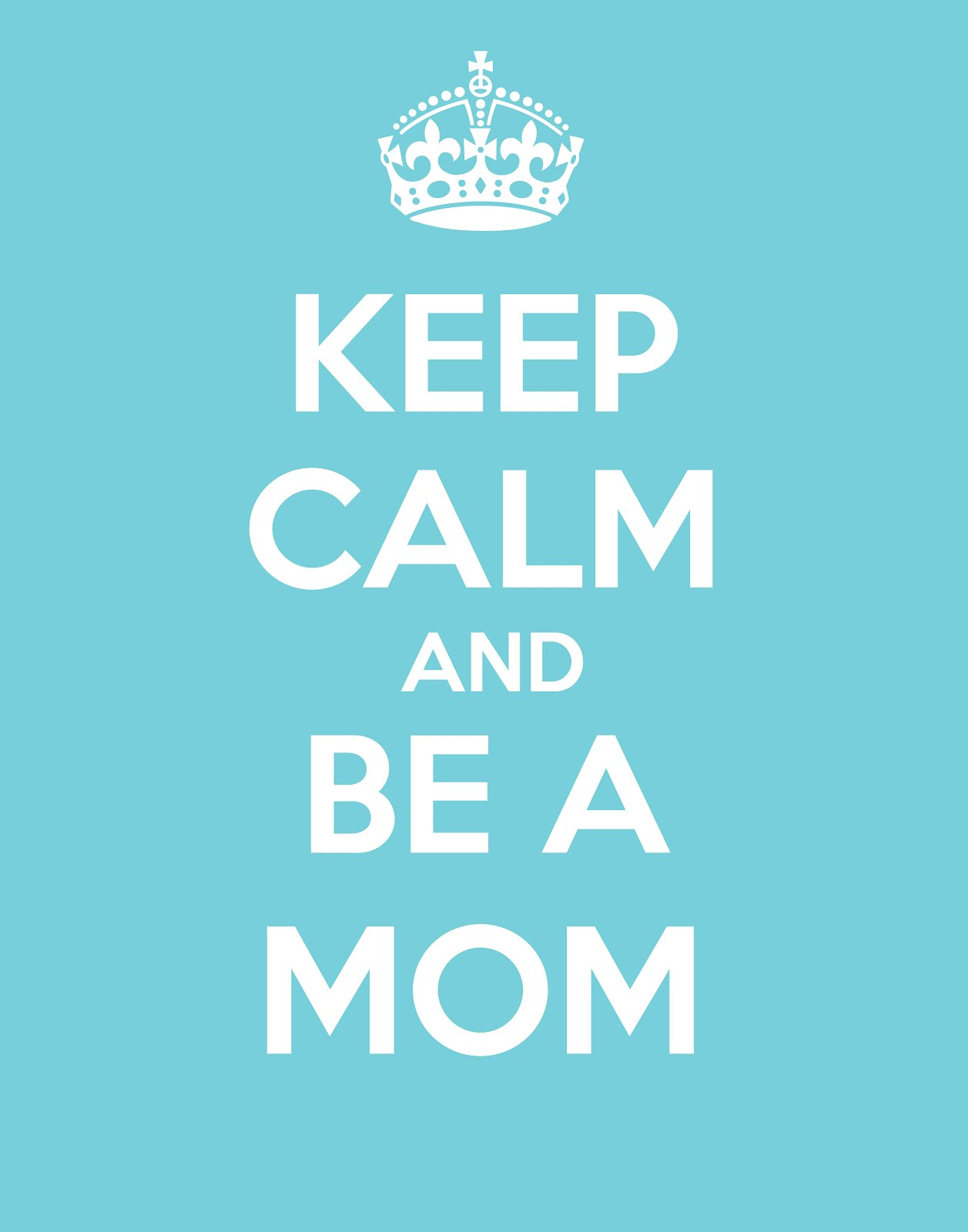 Keep Calm Single Mothers